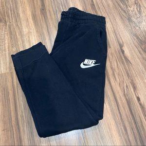Nike joggers kids boys large black athletic sweat